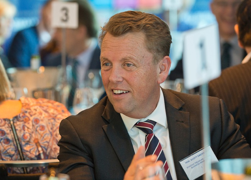 SBAA Business Lunch with Scott Emerson