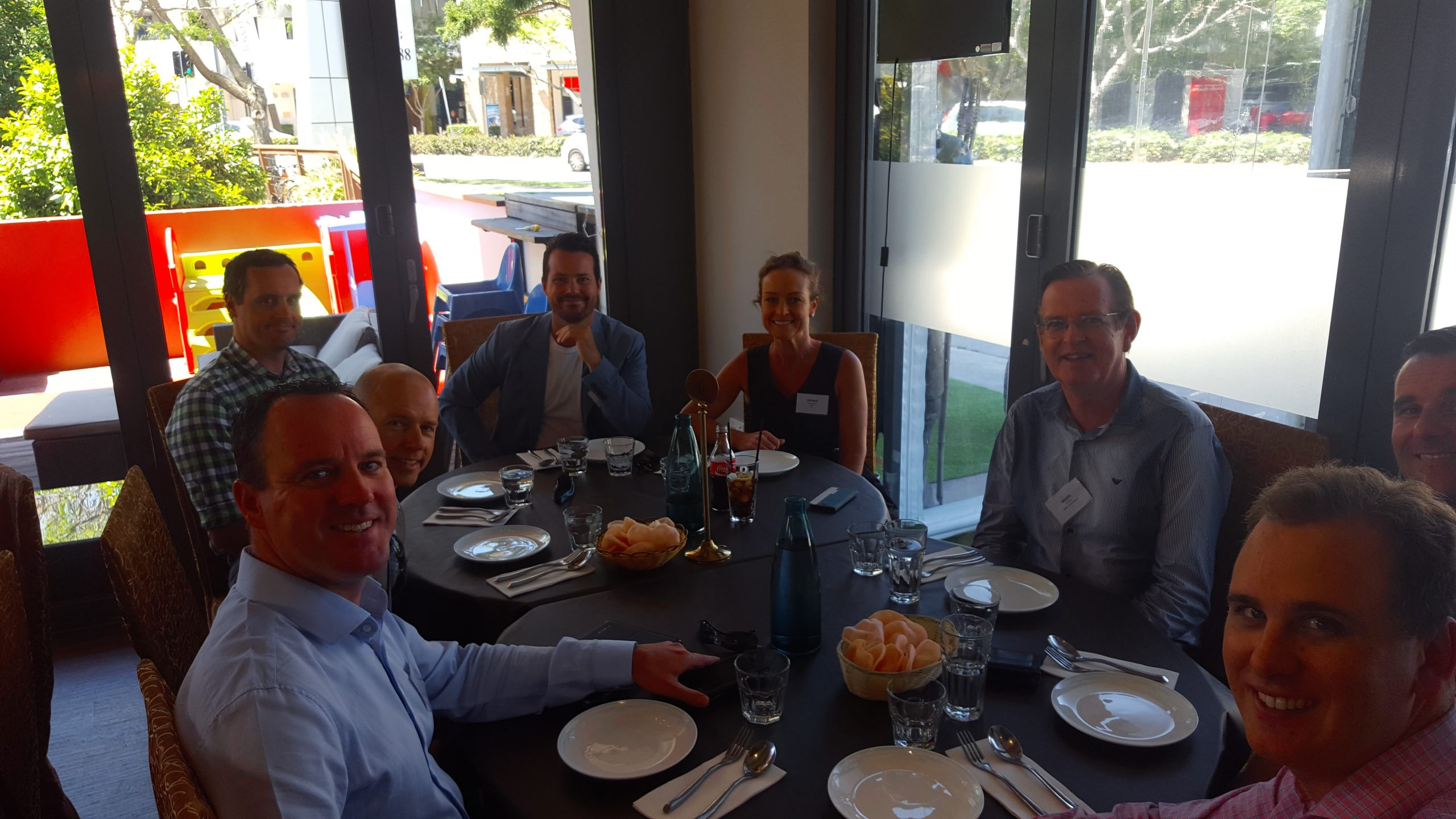 SBAA Business Lunch with Tim Reid