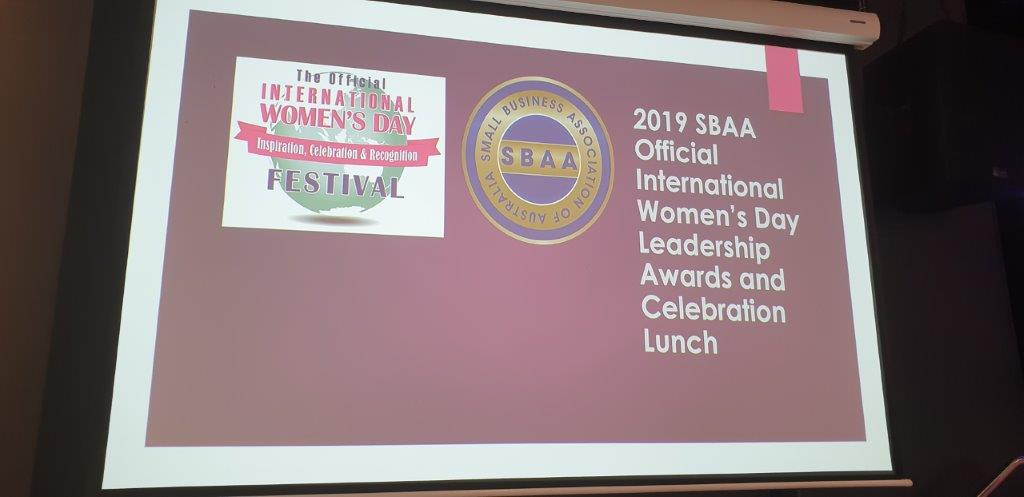 SBAA Official International Women's Day Leadership Awards